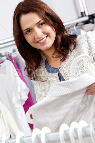 Pretty shopper Stock photo © pressmaster