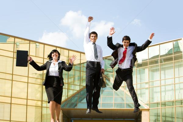 Stock photo: Winners