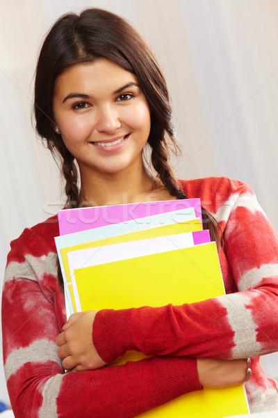 Happy student Stock photo © pressmaster
