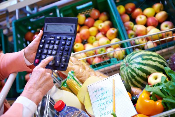 Counting price Stock photo © pressmaster