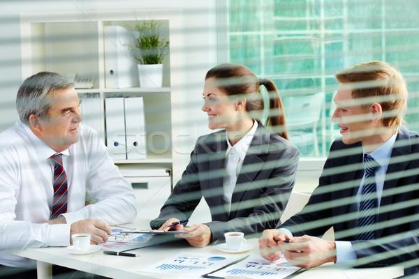 Foto stock: Planificación · trabajo · retrato · ocupado · personas