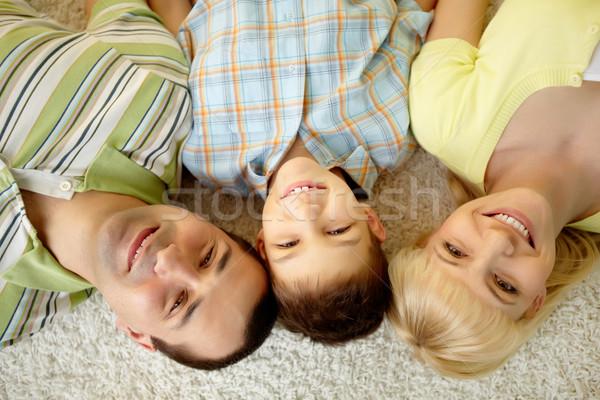 Smiling three Stock photo © pressmaster