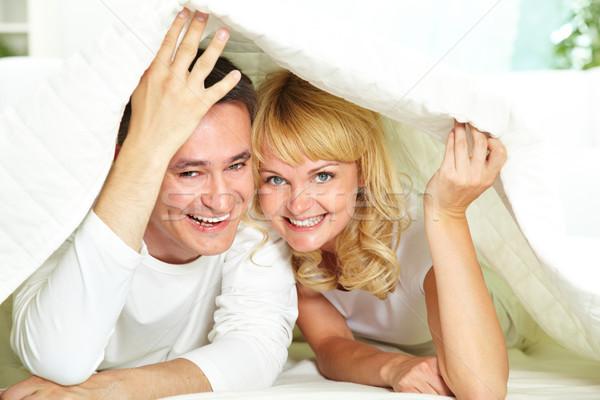肖像 戀愛的 情侶 愛 商業照片 © pressmaster