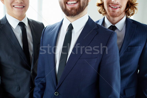 Smiling businessmen Stock photo © pressmaster