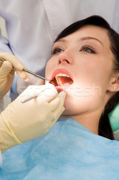 Dental checkup Stock photo © pressmaster