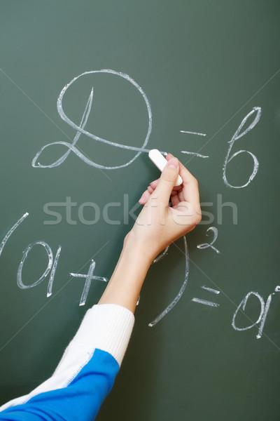 Writing formula Stock photo © pressmaster