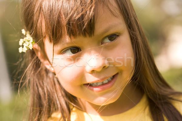 Stock photo: Charming girl