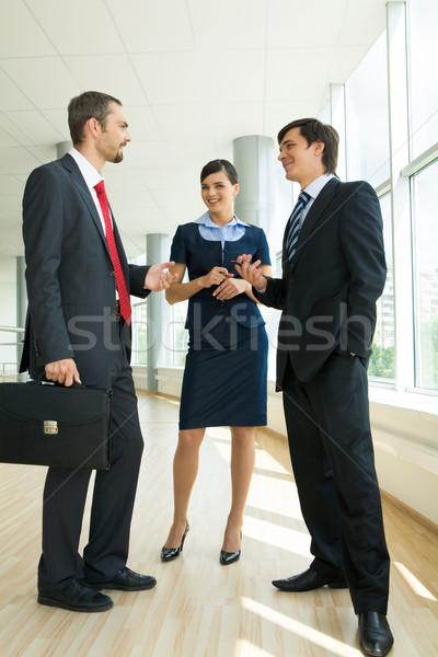 Сток-фото: планирования · работу · фото · бизнес-команды · Consulting · женщину