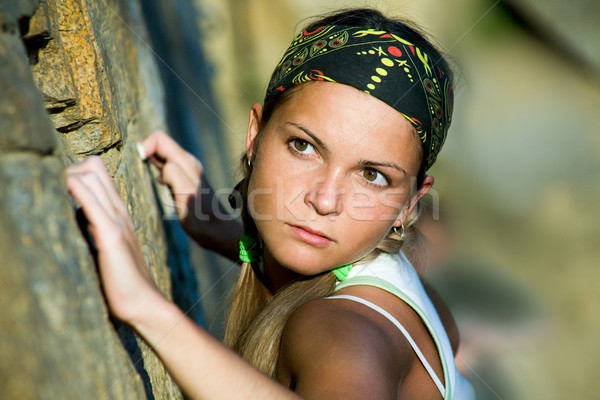 Stock photo: Sport girl