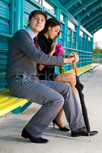 Peaceful couple   Stock photo © pressmaster