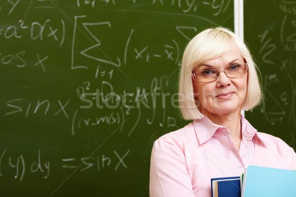 Stock photo: Experienced teacher
