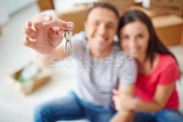 Keys from flat Stock photo © pressmaster
