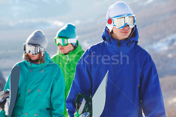 Snowboarder Stock photo © pressmaster