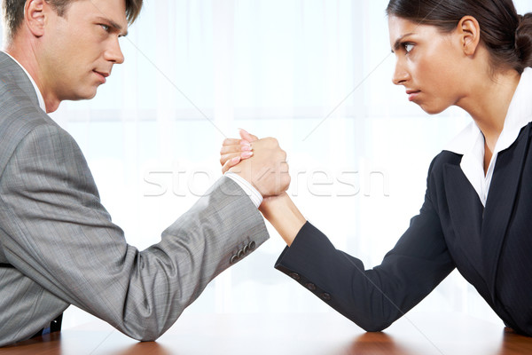 Business competition Stock photo © pressmaster