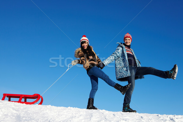 Winter recreation  Stock photo © pressmaster