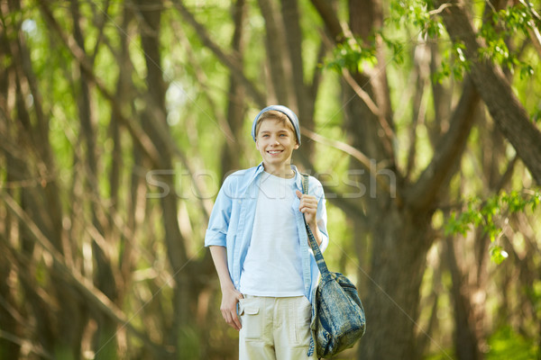 Lad outdoors  Stock photo © pressmaster