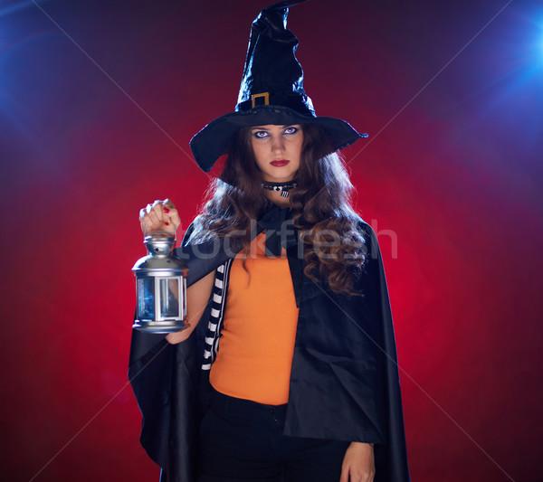 Halloween witch Stock photo © pressmaster