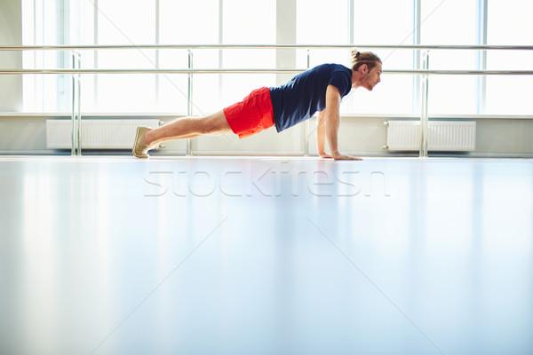 Physical exercise Stock photo © pressmaster