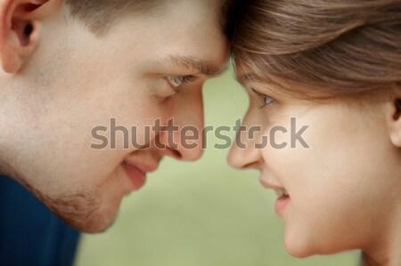 Gerçek sevmek iki gençler kadın Stok fotoğraf © pressmaster