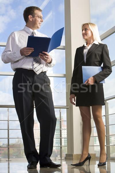 Codzienny działalności kobieta interesu dokumentu przypadku Zdjęcia stock © pressmaster