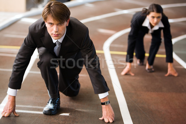 Stock photo: Competition