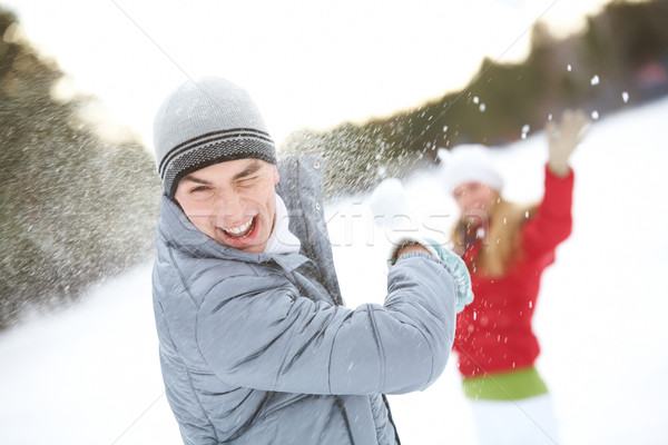 Guy laughing Stock photo © pressmaster