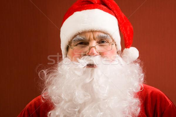 Happy Santa Stock photo © pressmaster