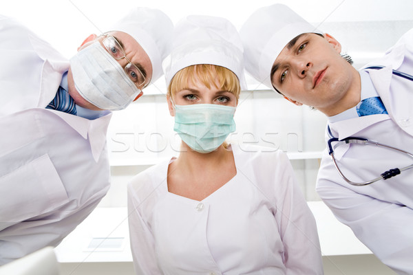 Therapeutists Stock photo © pressmaster