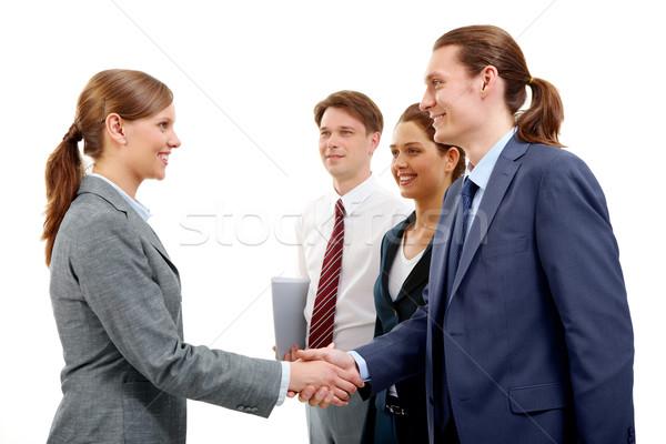 Stock photo: Agreement