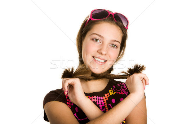 Teenage girl Stock photo © pressmaster