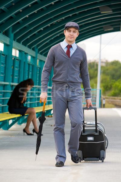 Walking man  Stock photo © pressmaster
