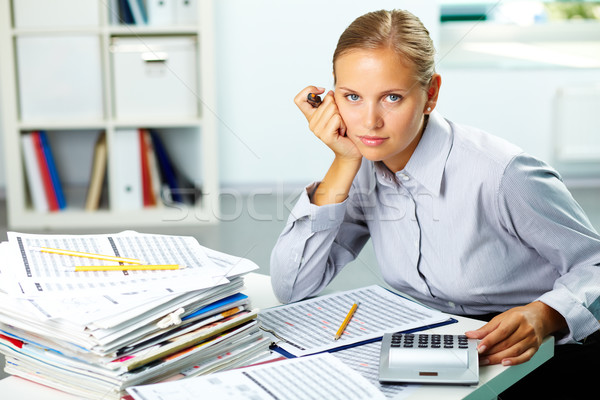 Accountant Stock photo © pressmaster