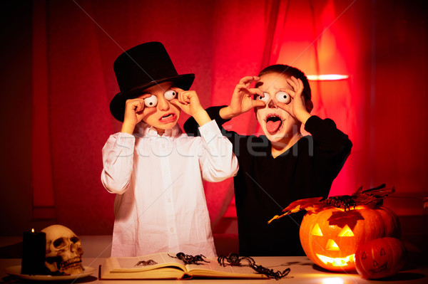 Halloween horror Stock photo © pressmaster