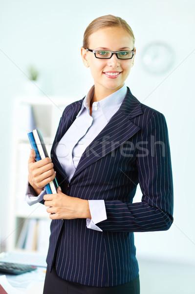 ビジネス 女性 肖像 エレガントな 女性実業家 見える ストックフォト © pressmaster