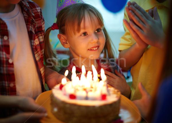 Birthday magic Stock photo © pressmaster