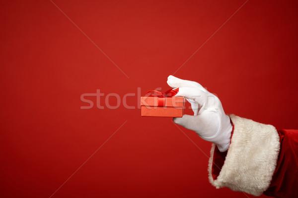 Holding gift Stock photo © pressmaster