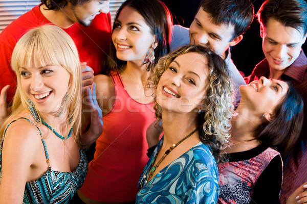 Interacción fiesta retrato feliz a la gente amor sexy Foto stock © pressmaster
