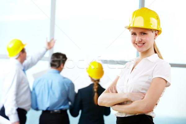 Female engineer Stock photo © pressmaster