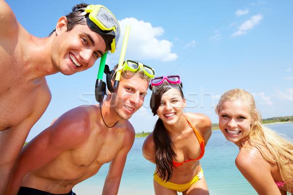 Friends on vacation Stock photo © pressmaster
