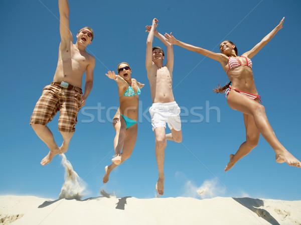 In jump Stock photo © pressmaster