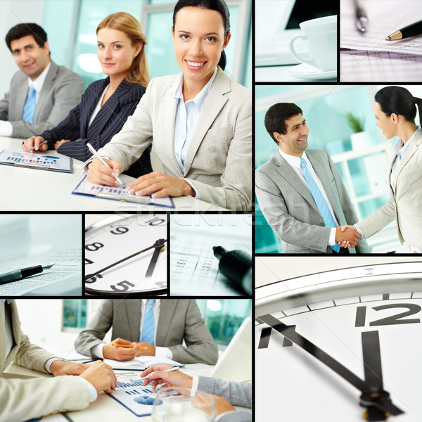 Stock photo: Office life