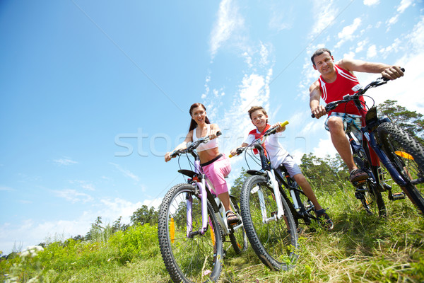 Stock photo: Spending time with family