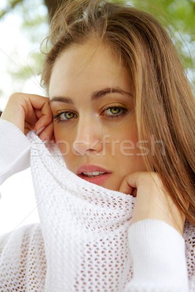 Calm woman Stock photo © pressmaster