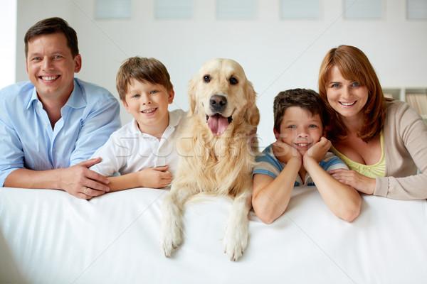 Big family Stock photo © pressmaster