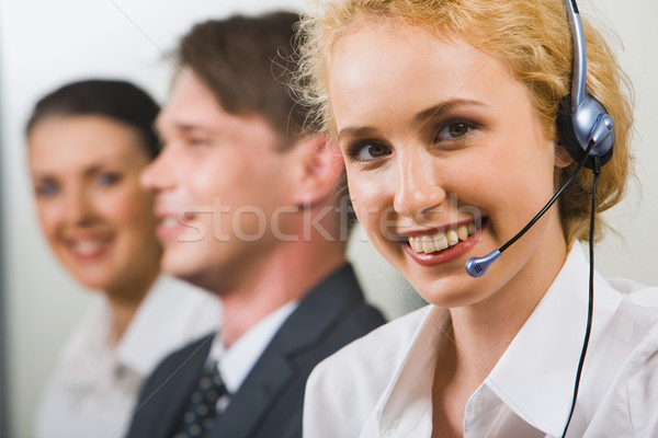 Friendly customer support service  Stock photo © pressmaster