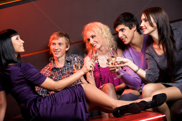 In the night club Stock photo © pressmaster