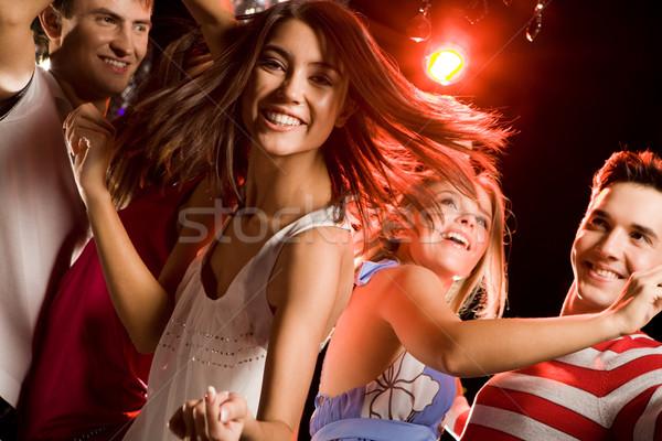 Stock fotó: Vonzó · táncos · kép · energikus · lány · néz