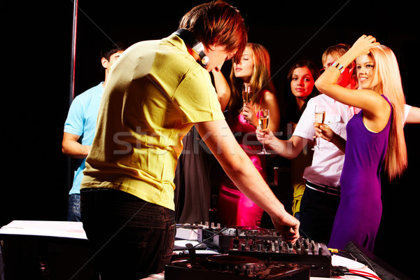 In night club Stock photo © pressmaster