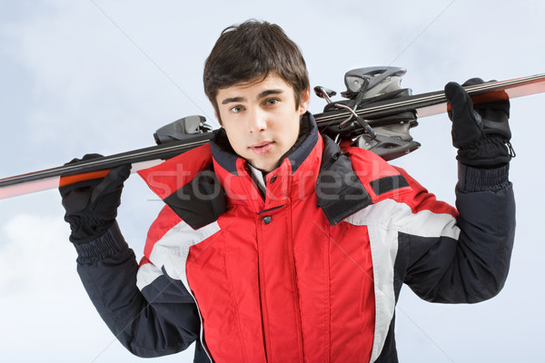 Young skier Stock photo © pressmaster