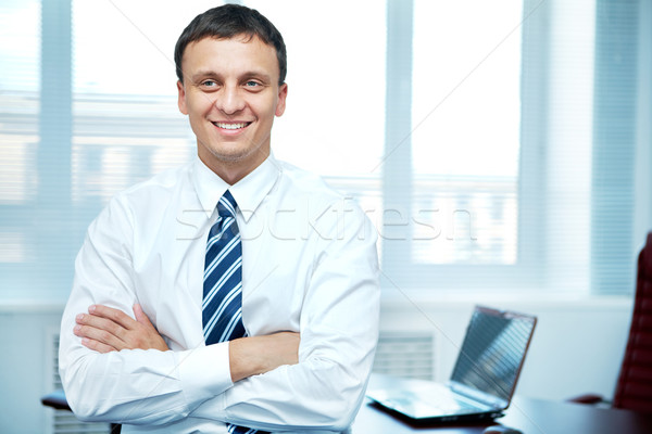 Conscientious manager Stock photo © pressmaster